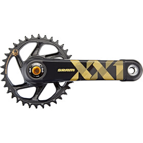 SRAM XX1 Eagle DUB Guarnitura Direct Mount 34 denti 12 velocità, gold